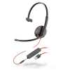 Plantronics Blackwire 3215 Monaural Corded USB-A Headset with 3.5 mm connection 209746-22