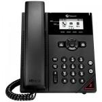 Polycom VVX 150 2-Line Entry-level Desktop Phone PoE (2200-48810-025)