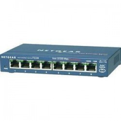 Netgear FS108NA ProSafe 8-Port 10/100 Unmanaged Desktop Switch