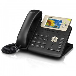 3-line Color Gigabit VoIP Phone