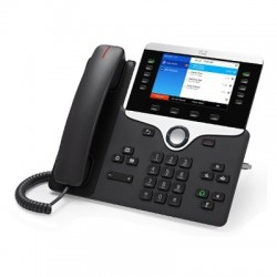 Cisco IP Phone CP-8851 with 5 Lines and Open-SIP (CP-8851-3PCC-K9=)