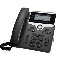 Cisco IP Phone 7821-3PCC with 2 Lines and Open-SIP (CP-7821-3PCC-K9=)