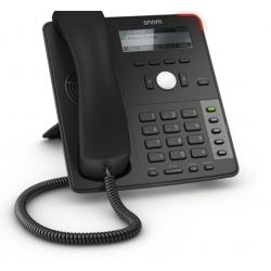 snom D712 4-line Desk VoIP Telephone