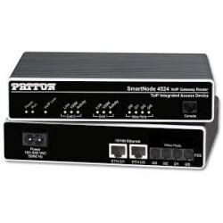 Patton SN4524 2-FXS 2-FXO Gateway Router SN4524/2JS2JO/EUI