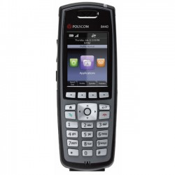 Spectralink 8440 Wi-Fi Phone Black w/ extended battery with LYNC NA (2200-37150-001 and 1520-37215-001)