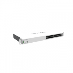 Netgear GC728XP Insight Managed 28-Port Gigabit, PoE+ Smart Cloud Switch with 2 SFP and 2 SFP+ Fiber Ports