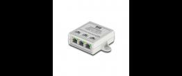 CyberData 011259 3 Port PoE Gigabit Port Mirroring Switch