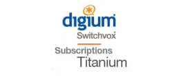 Digium 1 Year Switchvox Titanium Support and Maintenance Subscription Renewal for 1 User