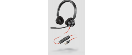 Poly Blackwire 3320 Microsoft USB-A Corded Headset
