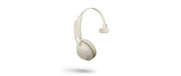 Jabra Evolve2 65 USB-A Mono MS Teams Headset Beige