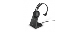 Jabra Evolve2 65 USB-A Mono MS Teams Headset w/stand Black