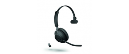Jabra Evolve2 65 USB-A Mono Microsoft Teams Headset Black