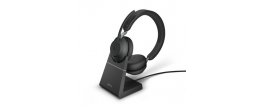 Jabra Evolve2 65 USB-C Stereo MS Teams Headset with Stand Black