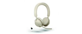 Jabra Evolve2 65 USB-C Stereo MS Teams Headset Beige