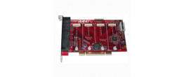 Rhino R8FXX-E-EC-04 8FXO PCIe Card with Echo Cancellation