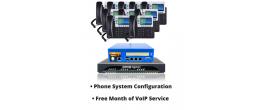 RenegadePBX Pro 75 Bundle with Grandstream Phones and Patton ESBR