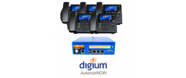 RenegadePBX Pro 75 with AsteriskNOW and Digium D60 Phones Small Business Analog Solution