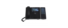 AudioCodes SFB 450HD IP-Phone PoE with External Power Supply with Expansion Module