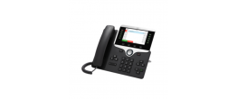 Cisco CP-8811-3PCC-K9= 8811 IP Phone w/ 5 Lines Open-SIP & Grayscale Display