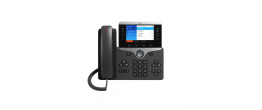 Cisco CP-8851-3PCC-K9= IP 8851 IP Phone w/ 5 Lines Open-SIP & USB/Bluetooth