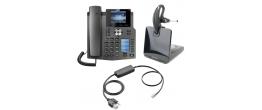 Fanvil X4G IP Phone and Plantronics CS530 Small Office Bundle