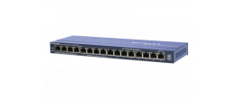 Netgear FS116P 16-Port Unmanaged Switch with PoE