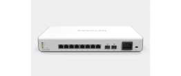 Netgear GC510PP Insight Managed 8 Port Gigabit Smart Cloud Switch with PoE and w/2 SFP Fiber Ports