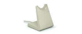 Jabra Evolve2 65 USB-C Stereo UC Headset w/stand Beige