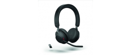 Jabra Evolve2 65 USB-A MS Teams Stereo Headset Black