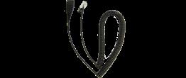 Jabra QD Cord, Coiled, Mod. Plug 8800-01-37