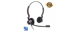 JPL-HAC-2 Dual Headset compatible with hearing aids