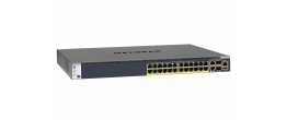 NETGEAR M4300-28G-PoE+ (550W PSU) Stackable Managed Switch (GSM4328PA)