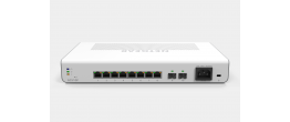 Netgear GC510P Insight Managed 8 Port Gigabit Smart Cloud Desktop/Rackmount Switch w/2 SFP Fiber Ports