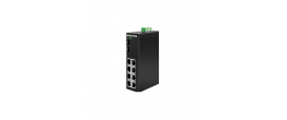 Patton FP1008E Unmanaged Industrial PoE+ Ethernet Switch