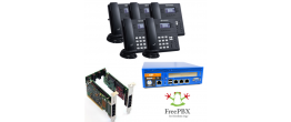 RenegadePBX Pro 75 Appliance Bundle with FreePBX and Sangoma S405 Complete SMB Solution