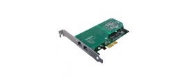Sangoma A102 Dual Port T1/E1 PCI Express Telephony Card