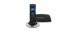 Sangoma DC201 Wireless DECT Phone and Base Station PHON-DC201N DB20N