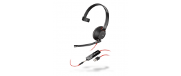 Plantronics Blackwire 5200 Series USB Headsets with USB-A and USB-C Options