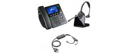 Digium D60 IP Phone and Plantronics CS510 Headset Small Office Bundle