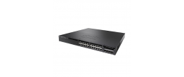 Cisco Catalyst 3650-24TS  24-port 1-/100/1000 Managed Switch