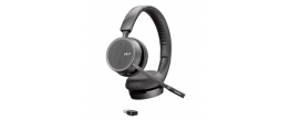 Plantronics Voyager 4220 UC Dual USB-A Headset (211996-101)