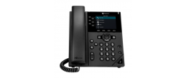 Obihai Edition VVX 350 6-Line Mid-range Color IP Desktop Phone (2200-48832-025)
