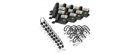 Yealink SIP-T23G 10-Pack Bundle with Wired Headsets