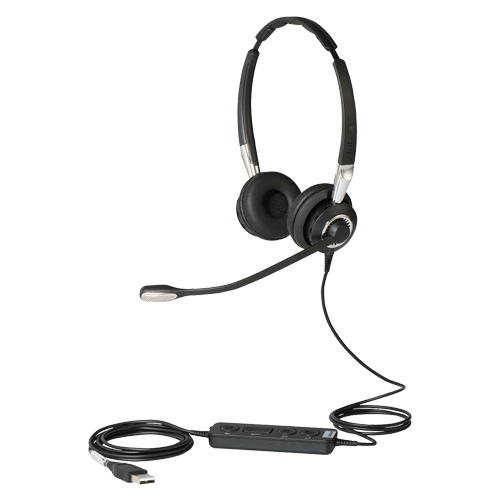 High quality noise canceling headphones - Jabra Biz 2400 Duo St Cord Headset Overview