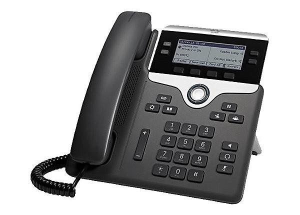 Cisco IP Phone CP-7841 w/ 4 Lines & Open-SIP