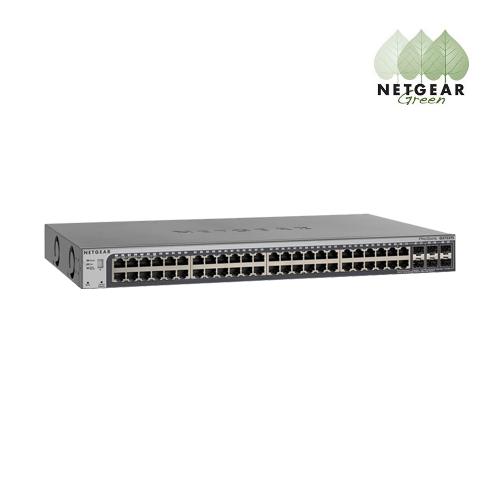 Netgear ProSafe 48-port Gigabit Smart Stackable Switch with 4 10G SFP+ slots