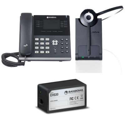 Sangoma S505 And Jabra Pro 920 Mono Small Office Bundle Voip Supply