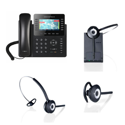 Grandstream Gxp2170 And Jabra Pro 920 Mono Small Office Bundle Voip Supply
