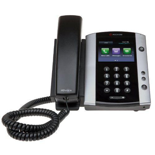 polycom vvx 500 12 line voip phone voip supply rh voipsupply com Panasonic 6.0 Cordless Phone Manual AT&T Cordless Telephone Manual