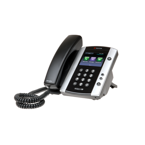 Polycom VVX 500 MS Skype for Business Edition - VoIP Supply